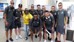 Лудогорец замина за Австрия, колоритна бразилка изпрати шампионите (галерия)