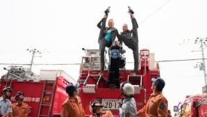 Българските гимнастички гостуваха на пожарникари в Япония