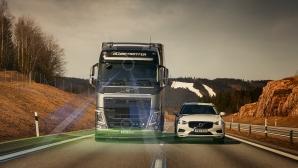 Volvo отново осигурява допълнителна безопасност за водача (видео)