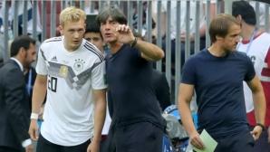Малка спънка може да е от полза за Германия, смята Филип Лаам