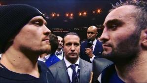 Усик и Гасиев ще се бият на 21 юли в Москва