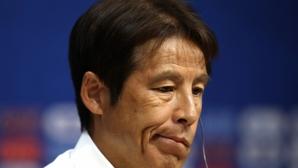 Селекционерът на Япония запази спокойствие след успеха срещу Колумбия