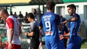 Хебър - Левски 0:0