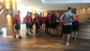 ЦСКА-София пристигна в Австрия