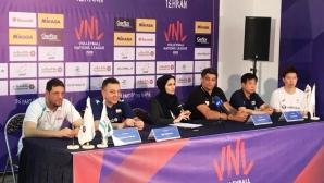 Пламен Константинов: Надяваме се на максимума от мачовете в Иран