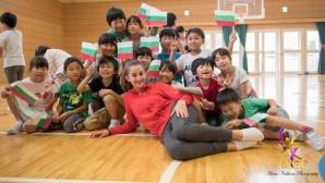 Националният ни отбор по художествена гимнастика продължава лагера си в Мураяма
