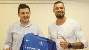 """Новият вратар на """"Герена"""": В Левски бяха смаяни, наричат ме гигант"""