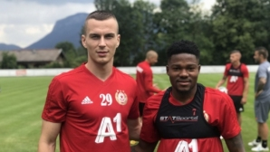 Нови попълнения проведоха първа тренировка с ЦСКА-София