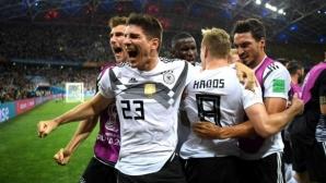 Германия - Швеция 1:1, имаше ли дузпа за шведите (гледайте на живо)