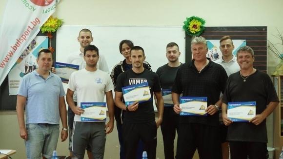 АРБС запозна спортни треньори с методологията Обучение чрез спорт