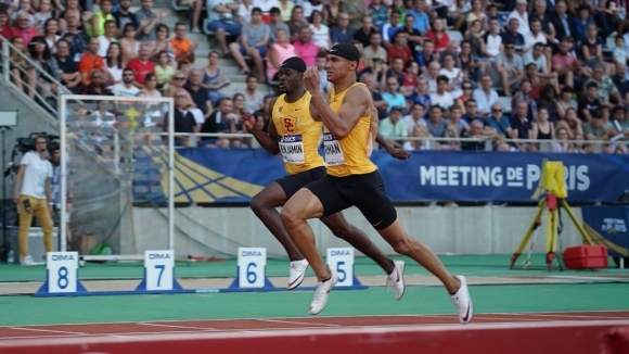 Силни резултати в спринтовите бягания на Диамантената лига в Париж