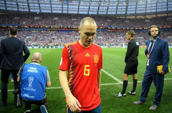 Иниеста обяви края на кариерата си в националния отбор