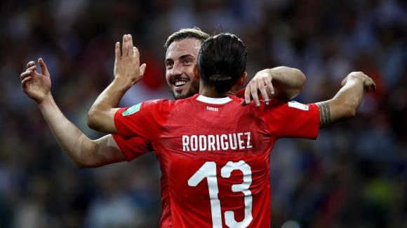 Швейцария изпълни целта си, а Коста Рика стигна до точка (видео)