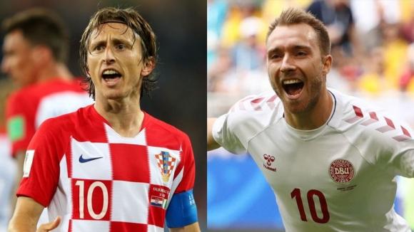 Впечатляващата Хърватия срещу непредвидимата Дания