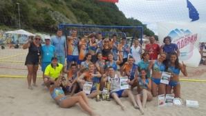 Aсти 91 и Етър 64 отново шампиони на плажен хандбал