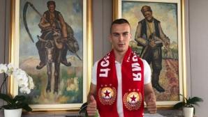 Борис Секулич: Ще играя със сърце за ЦСКА