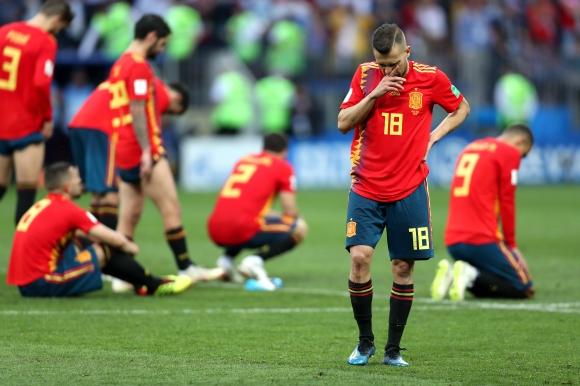 Какво се случи с Испания?