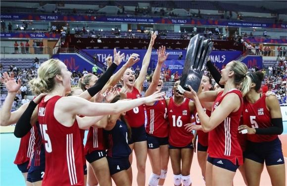 САЩ е първият шампион в Лигата на нациите за жени (видео)