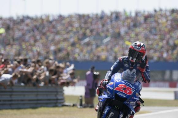 Винялес все още има надежди за титлата в MotoGP