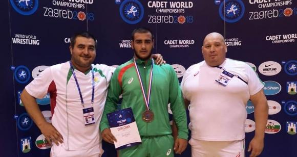 Стоян Йорданов донесе първи медал за кадетите от Загреб
