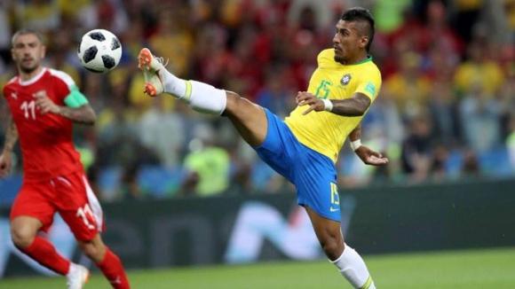 Паулиньо пропусна тренировка на Бразилия