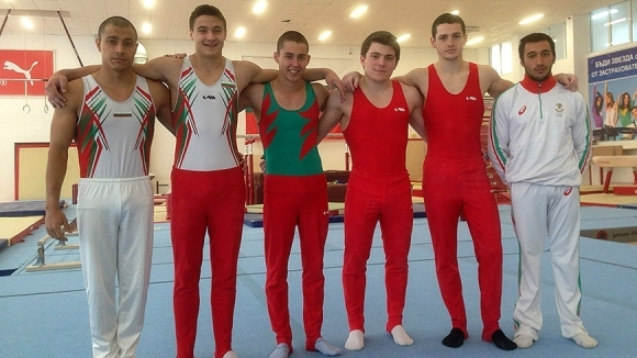 Светослав Ангелов спечели титлата в многобоя при мъжете на държавното по спортна гимнастика