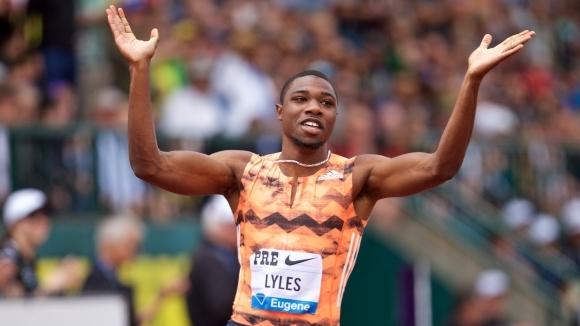 Ноа Лайлс отново лети на 200 метра - 19.69 сек