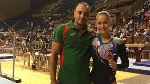 Памела Георгиева спечели титлата в многобоя на държавното първенство по спортна гимнастика