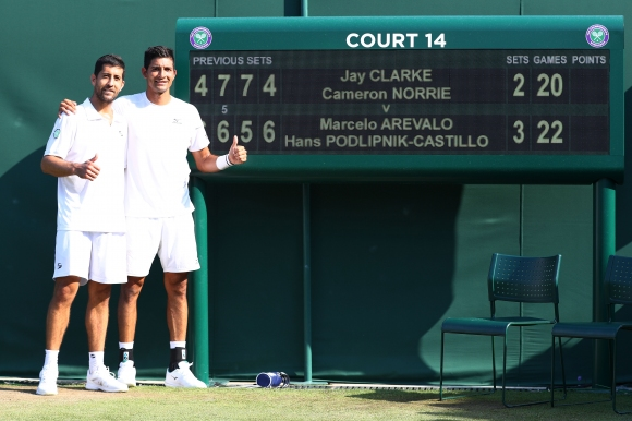 Чилиец и аржентинец спечелиха петчасов мач на двойки при мъжете