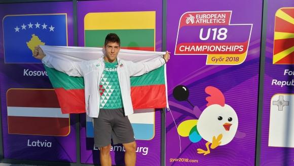 Валентин Андреев спечели сребро на чук на Европейското в Дьор