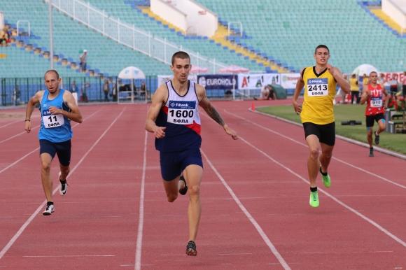 Живко Стоянов и Кристина Борукова №1 на 400 м