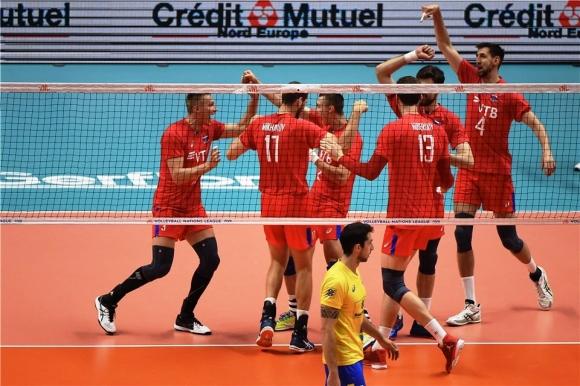 Русия смаза Бразилия и е на финал в Лил (видео + снимки)