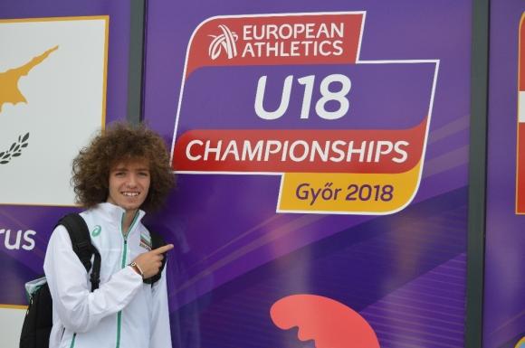 Веселин Живков пети във финала на 200 м на Европейското в Унгария