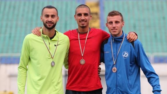 Балабанов надбяга Ценов за титлата на 5000 м, Минкина триумфира при жените