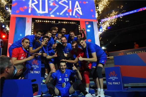 Русия разплака Франция и спечели Лигата на нациите (видео + снимки)