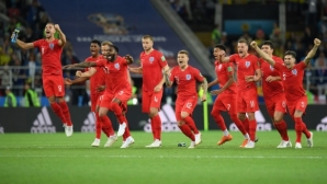 Англия развали проклятието и би Колумбия след рулетката на дузпите (видео + галерия)