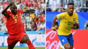 Бразилия vs. Белгия - фаворитите разкриват картите си