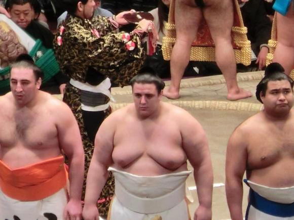 Даниел Иванов с първа победа на турнира по сумо в Нагоя