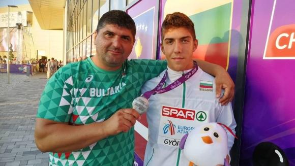 Европейският медалист Валентин Андреев: Хвърлям чук от 3-годишен