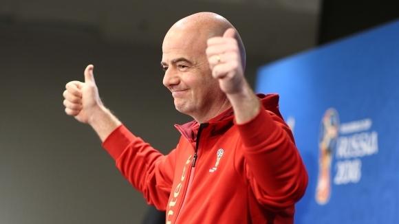 Босът на ФИФА: Световното в Русия е най-доброто в историята