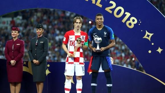 Лука Модрич получи най-голямото индивидуално признание на Мондиал 2018