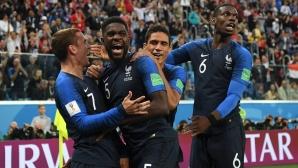 Франция стигна до финала след минимален успех над Белгия (видео)