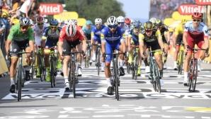 """Втора етапна победа в """"Тур дьо Франс"""" за Фернандо Гавирия"""