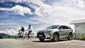Запознайте се с първия 7-местен модел на Lexus за Европа (снимки+видео)