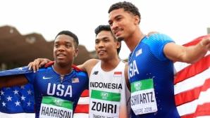 За първи път в историята индонезиец е световен шампион на 100 метра