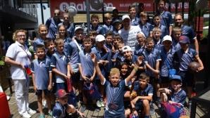 40 българчета гледаха Световното в базата на футболния гранд Барселона
