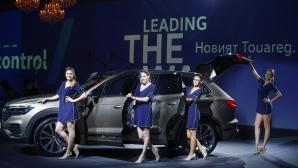 Новият Volkswagen Touareg показва бъдещето днес (Видео)