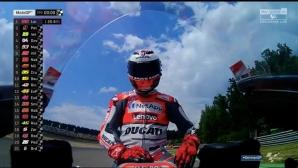 Лоренсо оглави втората тренировка от MotoGP в Германия, Роси – 17-и