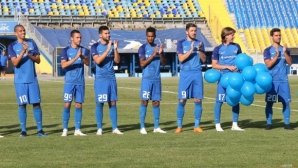 Спас Русев се срещна с играчите на Левски
