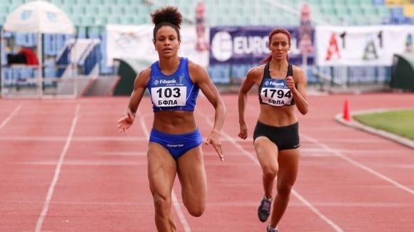 Карин Околие подобри рекорда си на 200 метра